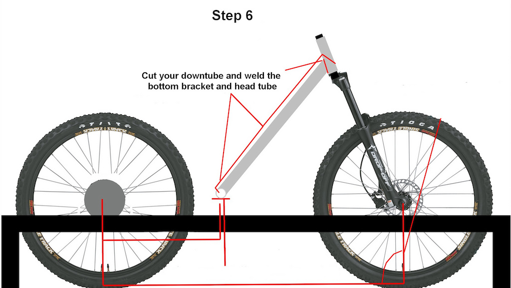 how to start building your own bike using my method , from the ground up , wich i found the easyest way , of course using a plan always help but this method is quite the simplest jig system , for those who begins