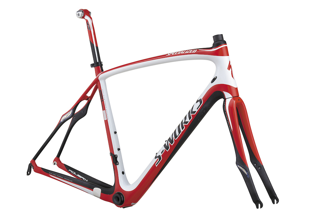 2012 Specialized S-Works Roubaix SL3 frameset
