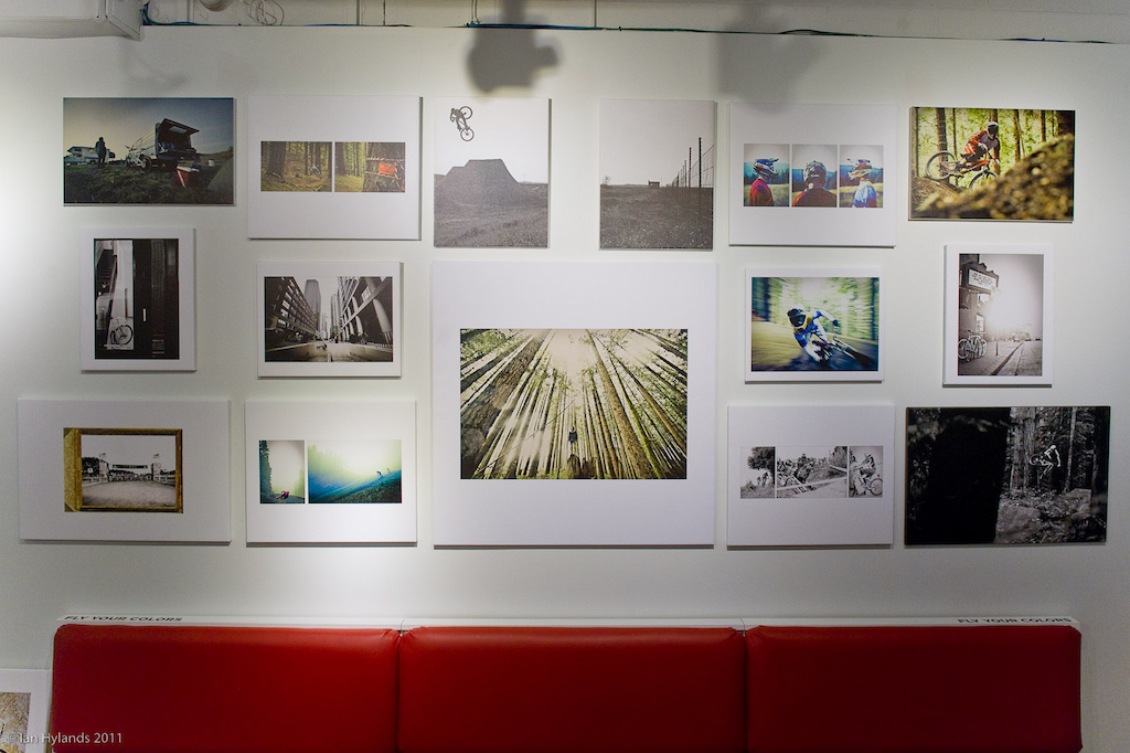 Adrian Marcoux Gallery in the store