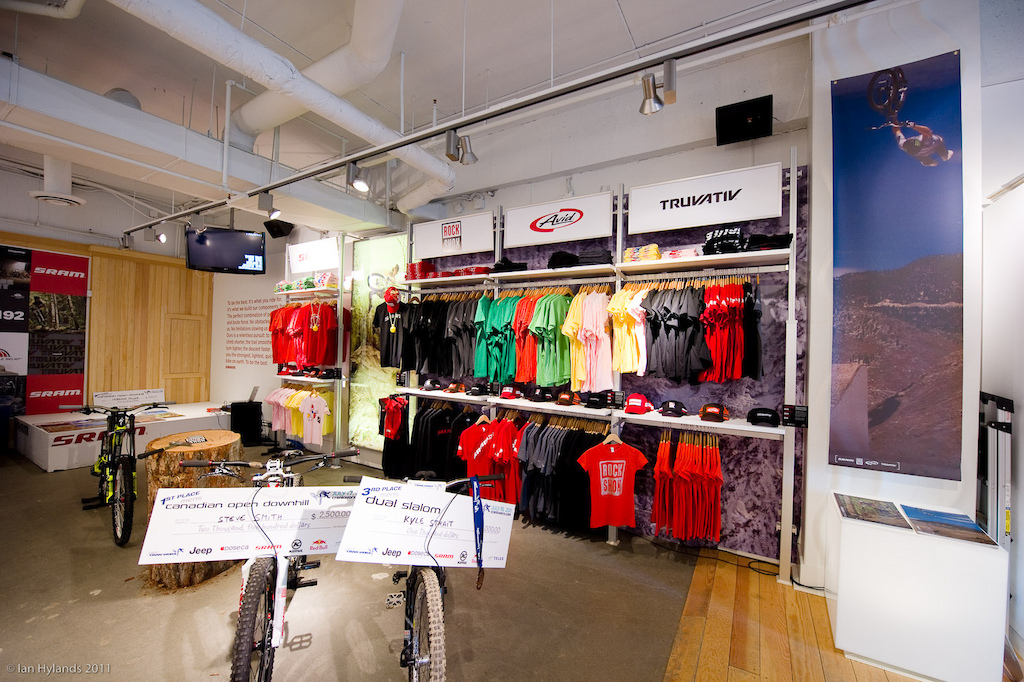 SRAM is selling T-Shirts and other goodies all profits going to World Bicycle Relief