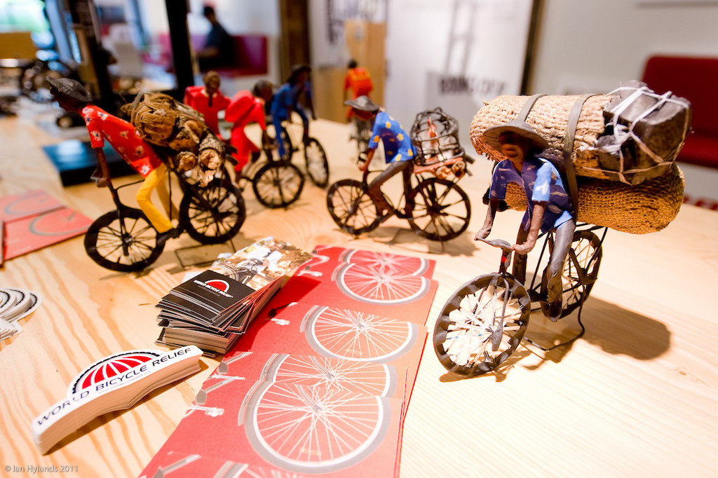 World Bicycle Relief is dedicated to providing access to independence and livelihood through the power of bicycles. http www.worldbicyclerelief.org