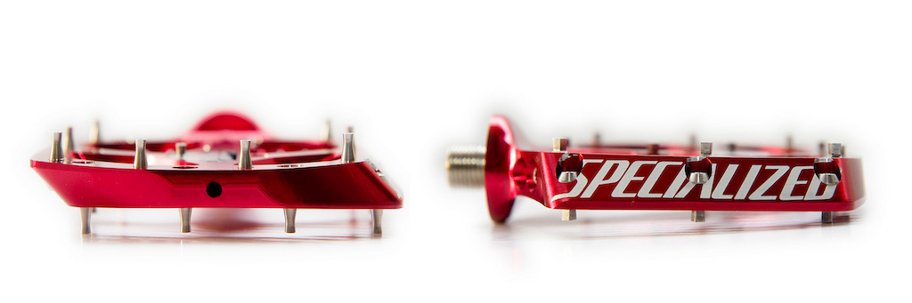 Prototype Specialized pedals. Photo by Ian Hylands.