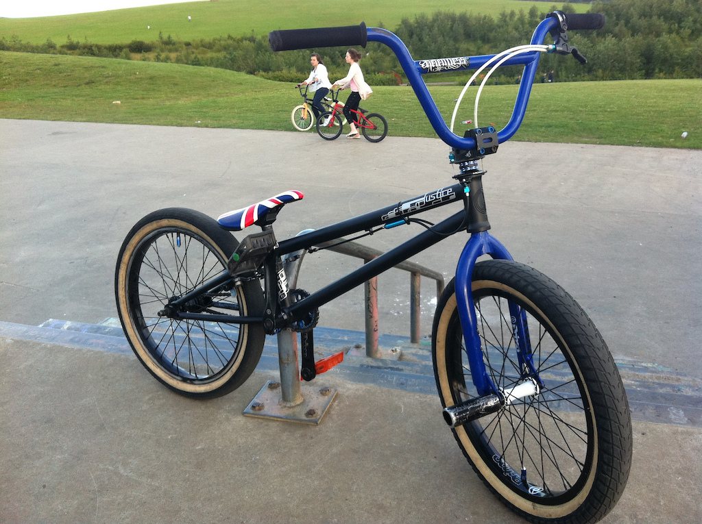 My new frame and seat
