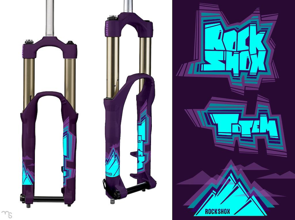 Jag graphic concept - purple stuff colorset