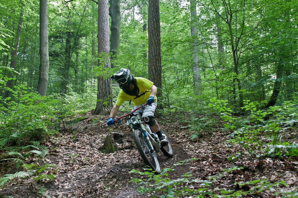 Me shredding local trails