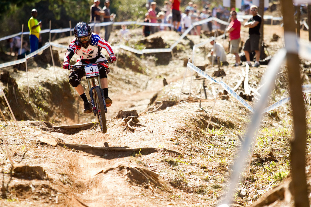 22 April 2011 during the opening round of the 2011 UCI Mountainbike World Cup in Pietermaritzburg South Africa. Photo by Gary Perkin