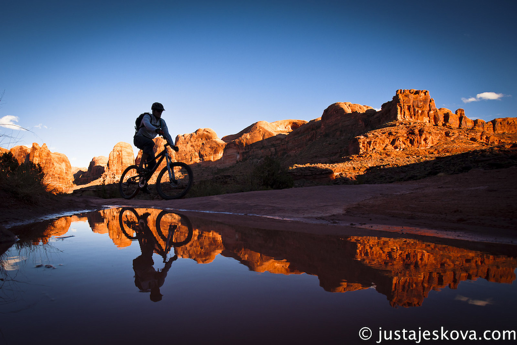 One of the many great rides in Moab area.