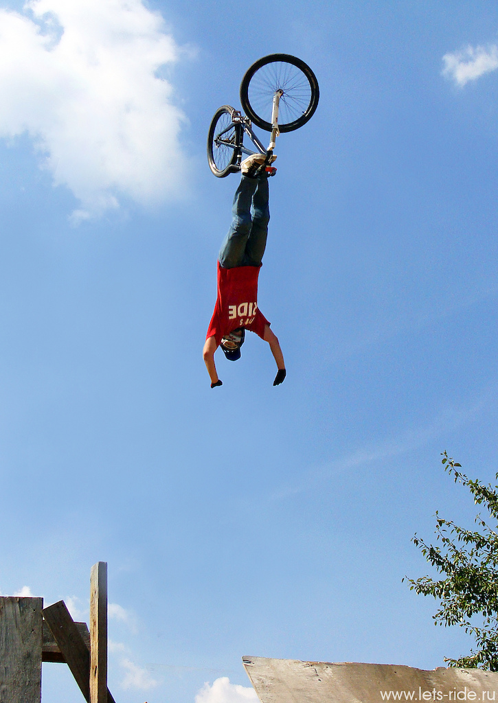 Photo by Alan Magkoev; Backflip-cliffhanger; From Russia with love to Kamloops, Canada :)