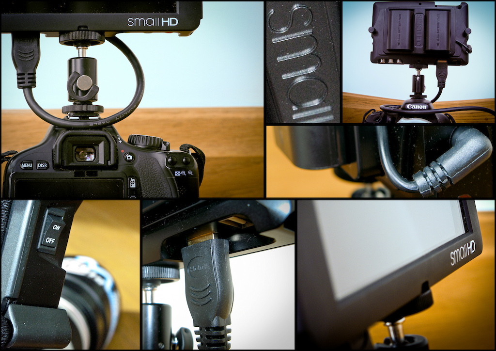 I fancied taking some product shots on my canon compact camera, what better to take photos of than one of my most valued pieces of filming equipment, a smallHD DP6 external monitor, find out more about them here:  http://www.smallhd.com/Store/5-6-HD-Field-Monitors