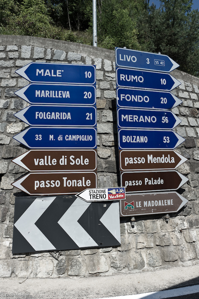 All roads lead to Rome. But not in this part of Italy. But one does lead to the World Cup Finals at Valle di Sole.