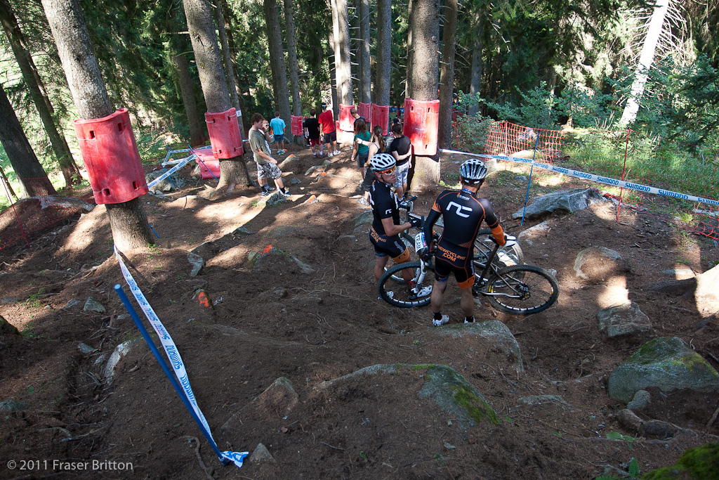 These french XC bandits seem a bit lost. Take a wrong turn mates