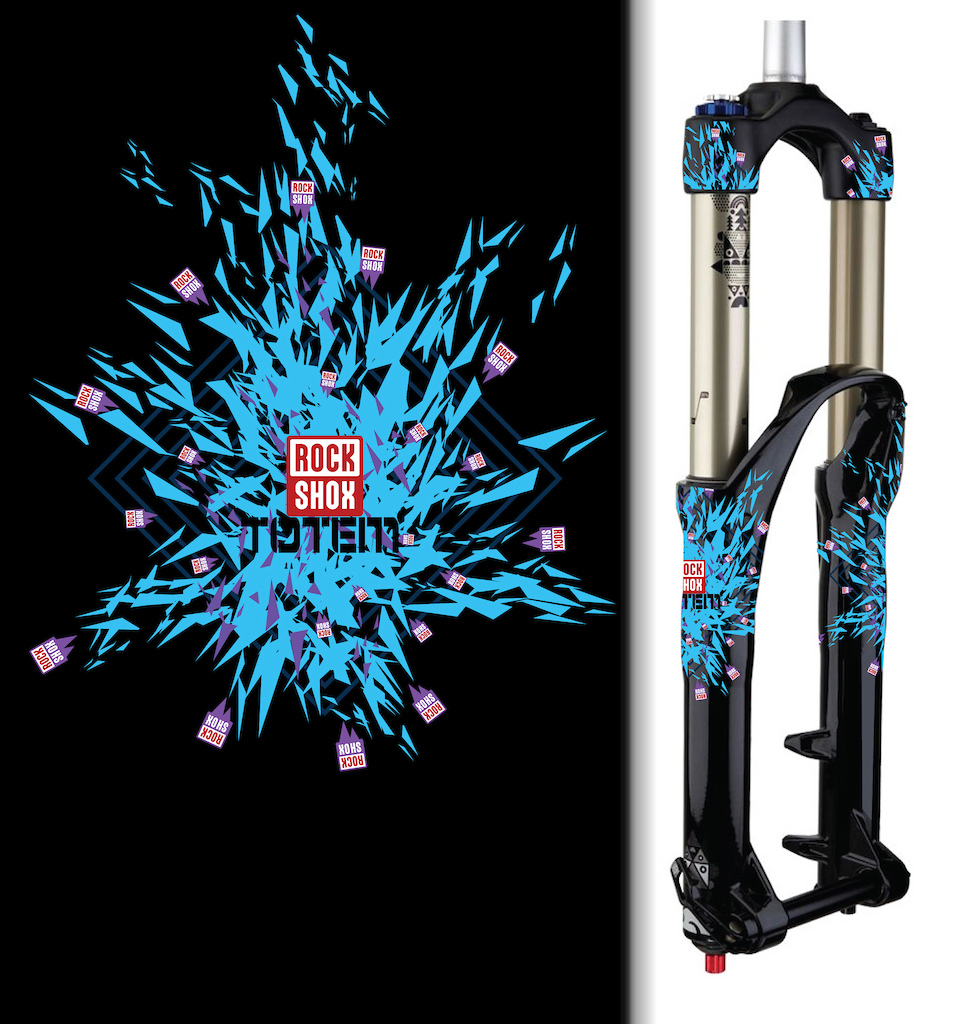 My designs for the RockShox Design it Yourself Contest. Please fave :)