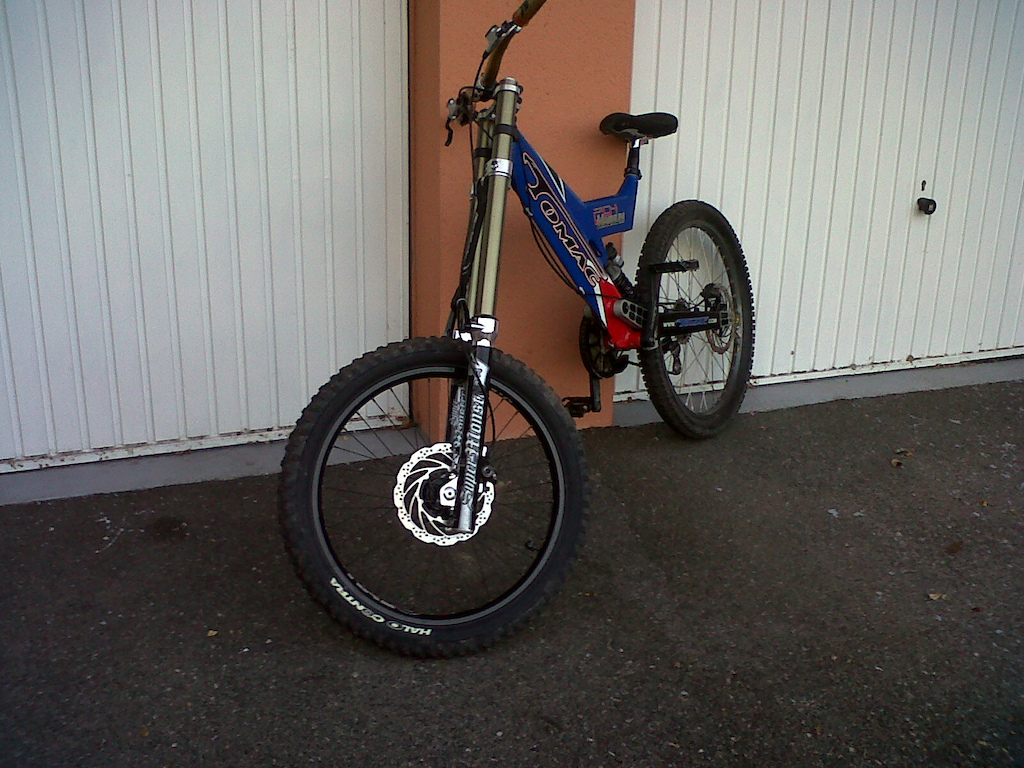 my new frame tomac 204 magnum with super monsters !!!