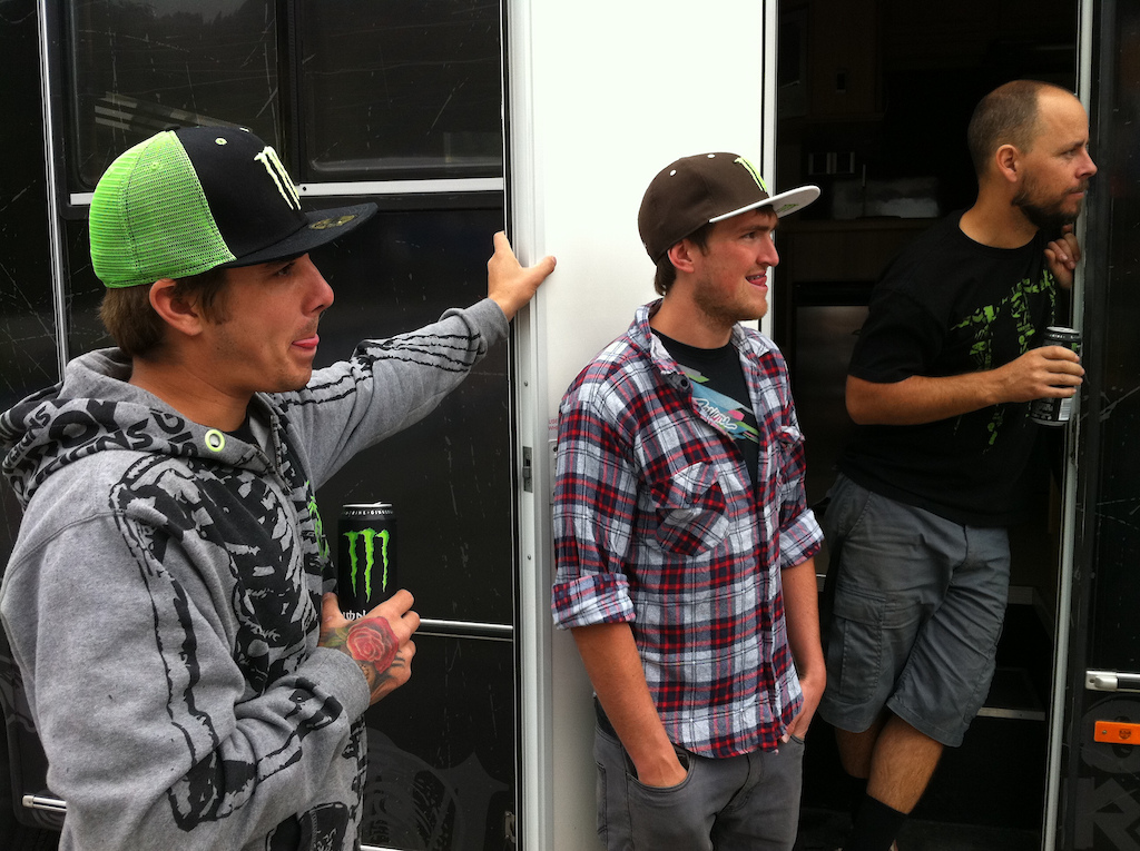 Sam Hill and Jacy Shumilak get their Monster 30 on.