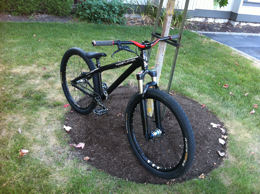 New wheels, bar, stem.  NS Rotary/DT Champion/Octane One 32  Chromag Cutblock stem and Answer ProTaper DH 780mm