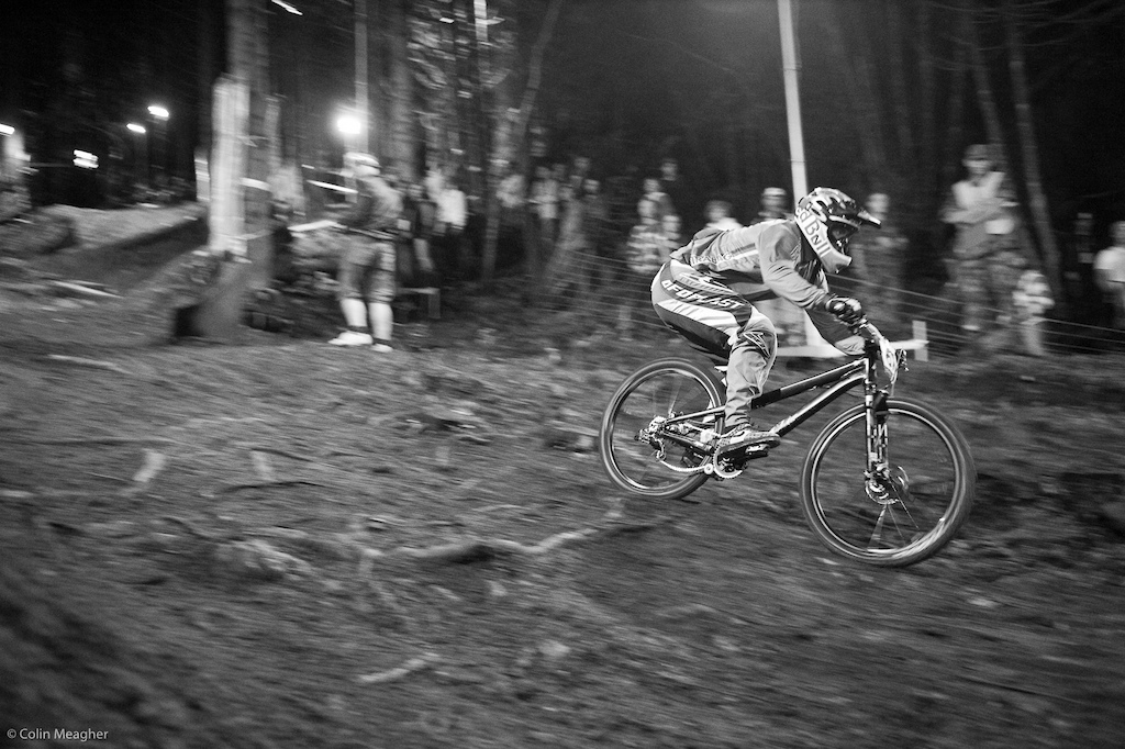 Michal Prokop on the other hand had a clean run and qualified first.