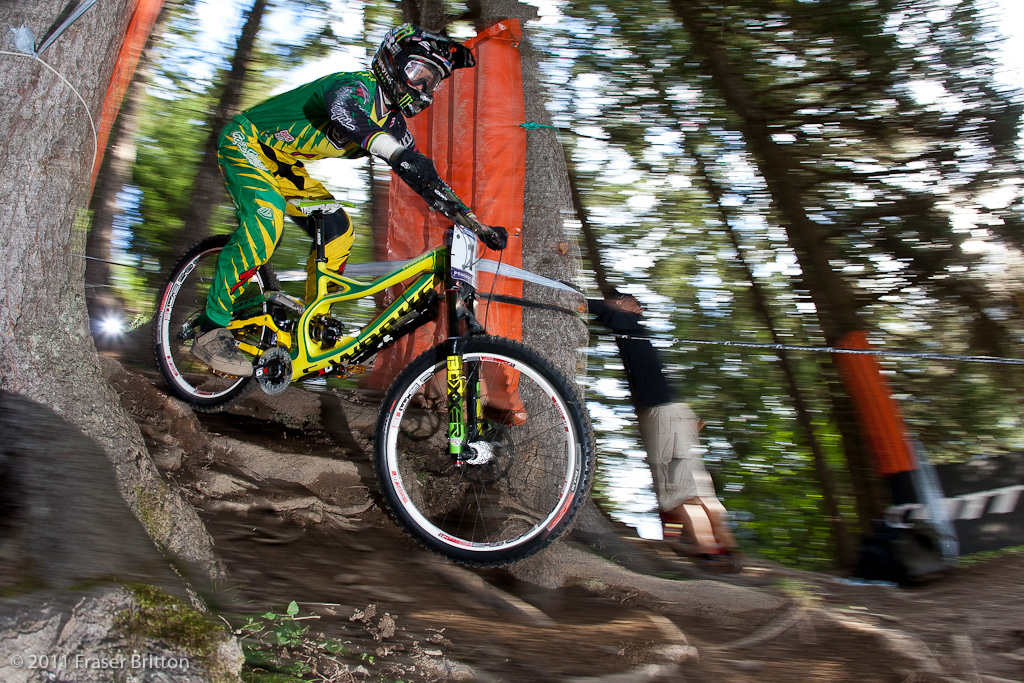 Troy was on it this morning. He seeded second just behind Loic Bruni of France. Sunday is going to be interesting.