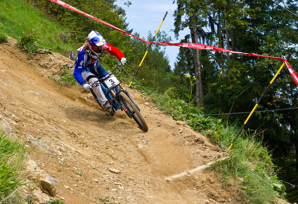 DH Timed Training at World Champs