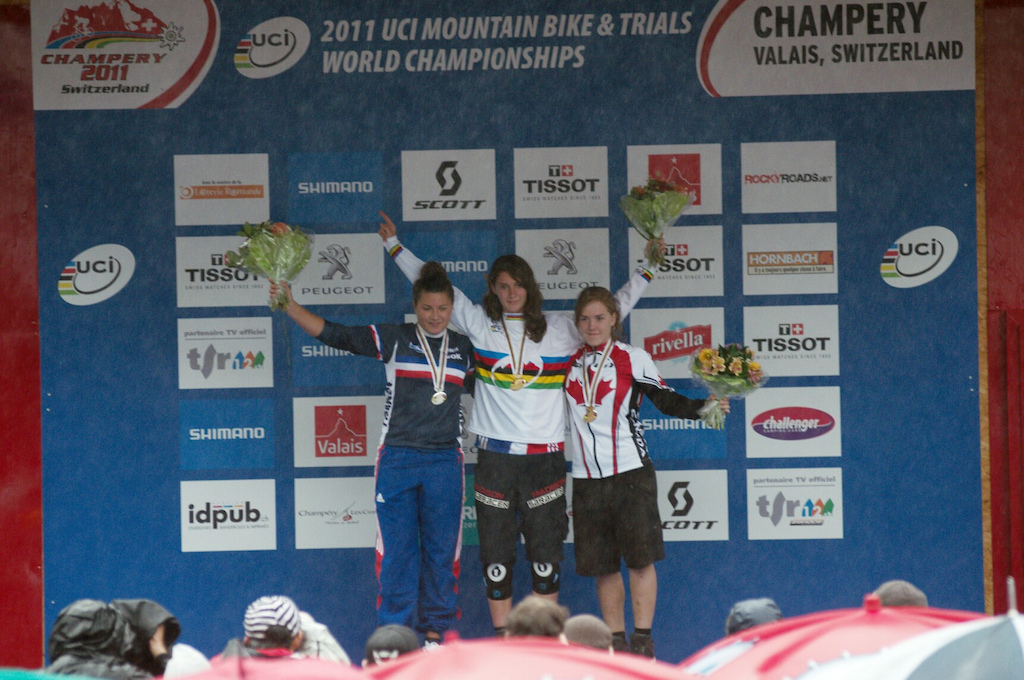 Manon took the gold at this years WChamps in Champery, here are a few photos from the week...