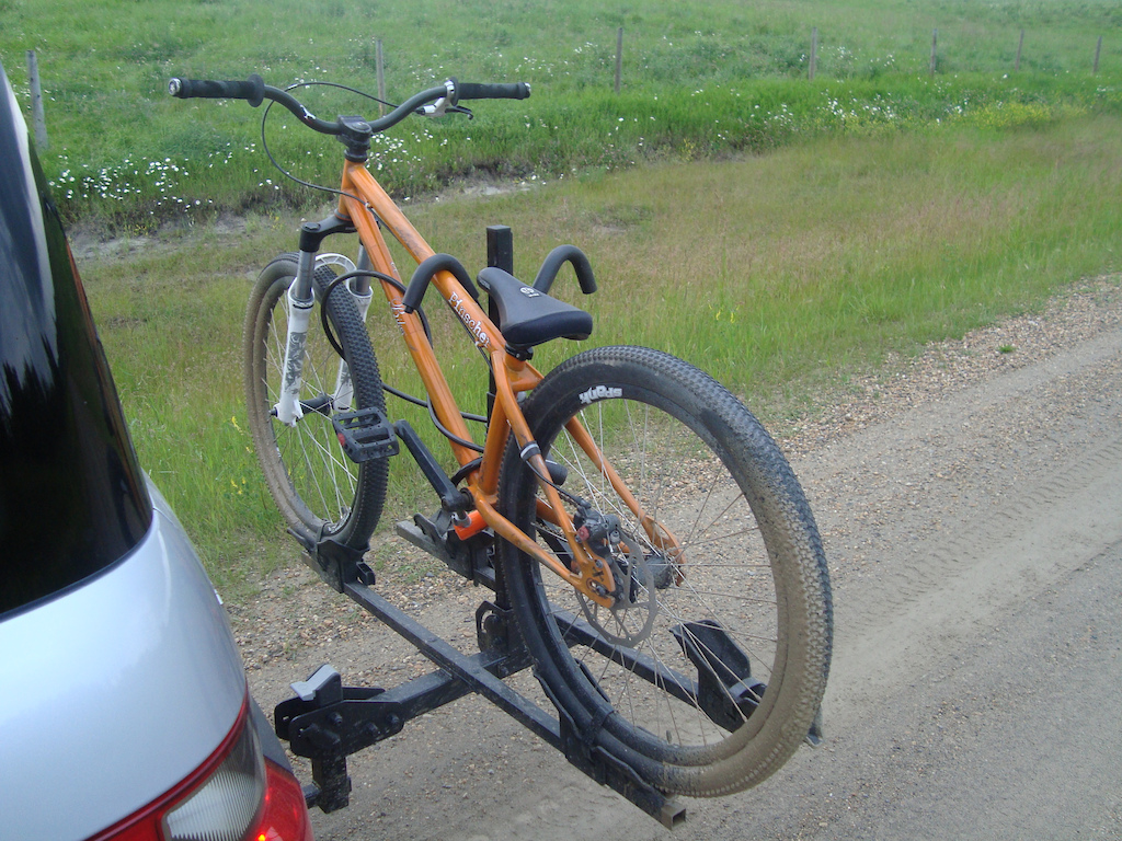 some of the last shots of my old bike - on the road in alberta
