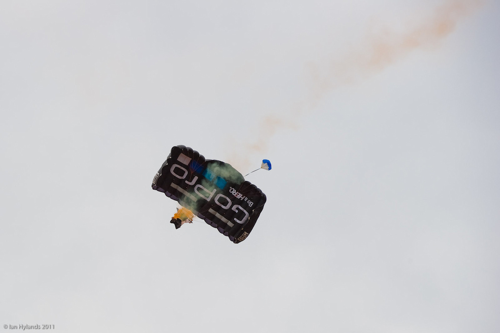 GoPro had a few guys jump out of airplanes today...
