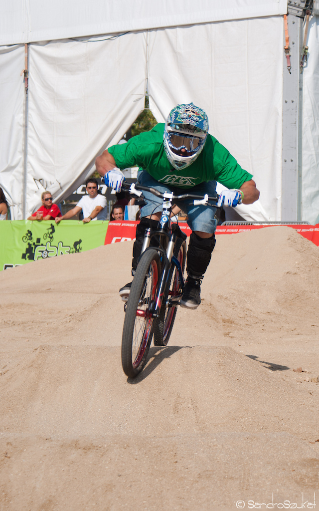 Pump track competition