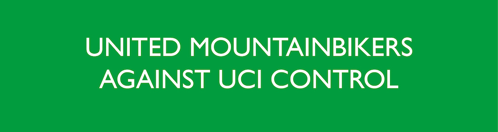United mountaibikers against UCI control