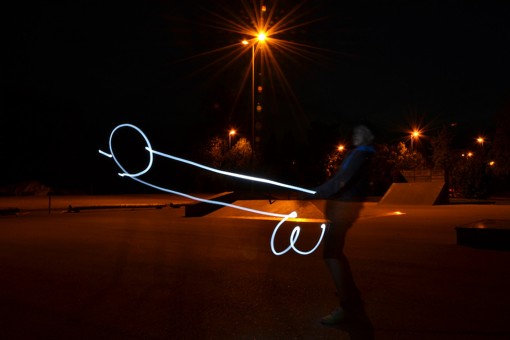 light painting hahaha
