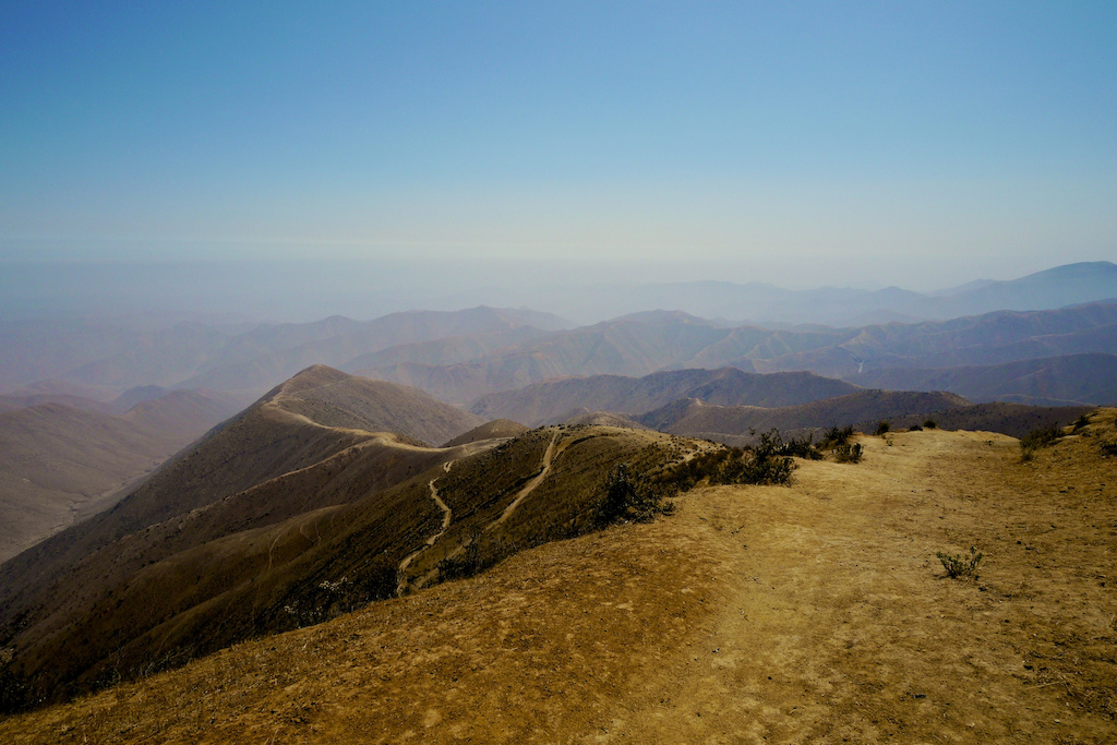 Follow that ridgeline down to a valley then out to the Pacific Ocean. Awesome. Just plain awesome.