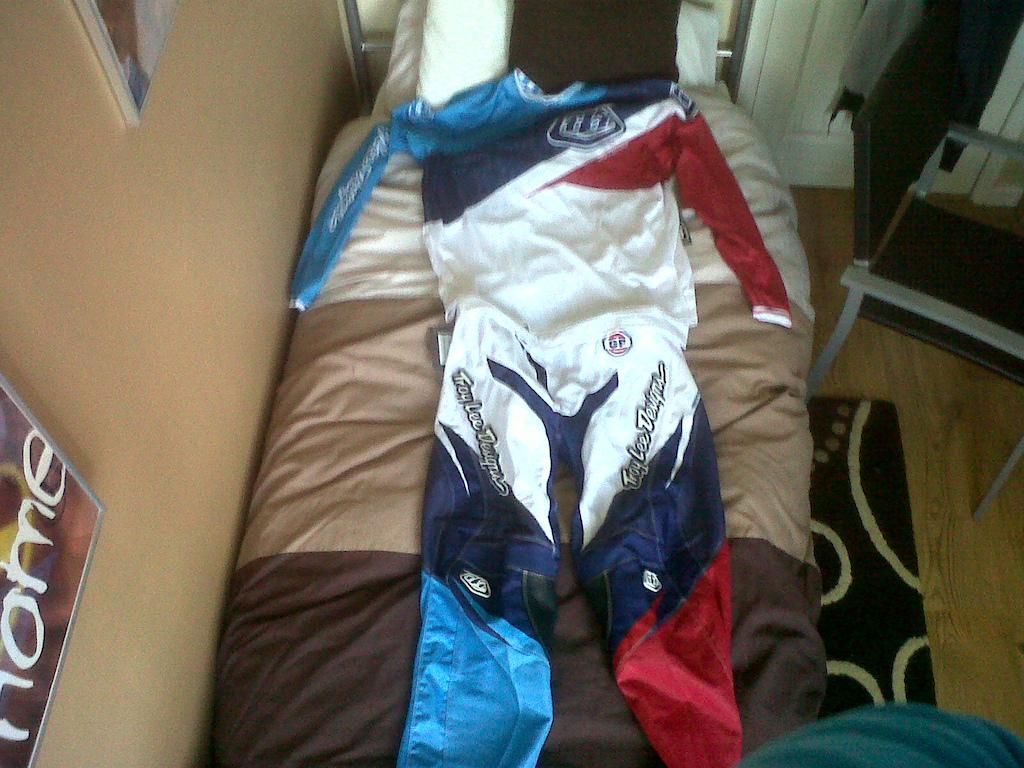 New riding gear