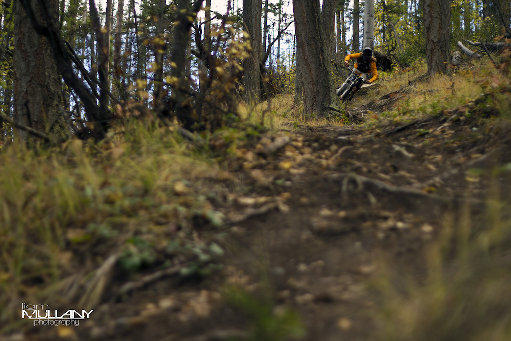 Evan ripping some dirt out of the corners while filming for an upcoming edit.