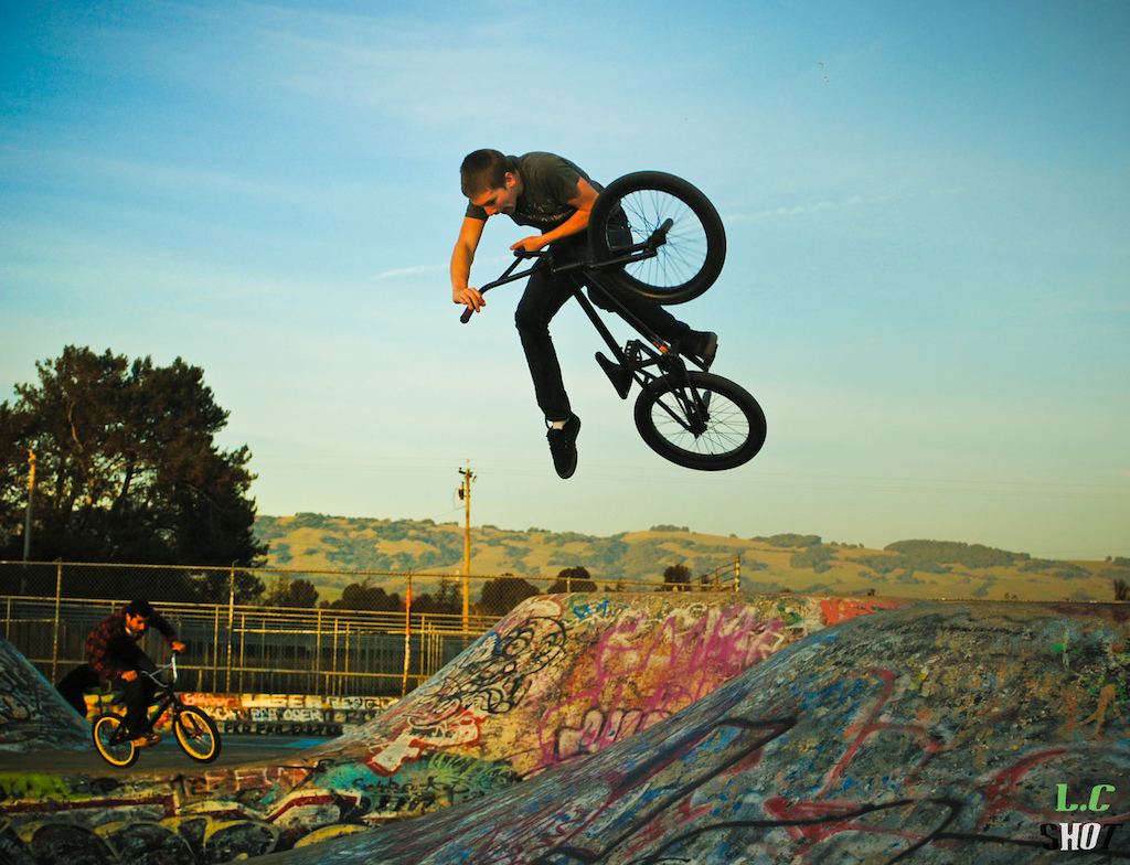 Jared pulling a dialed One footed Table!