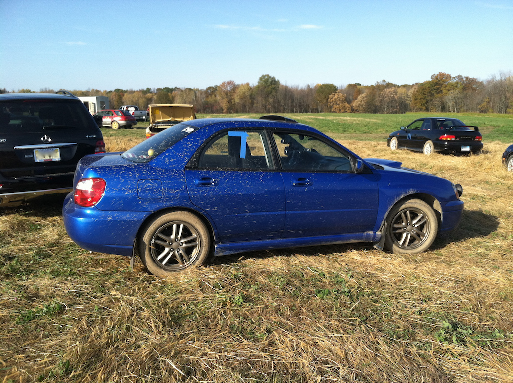 my car at rallycross from sunday.