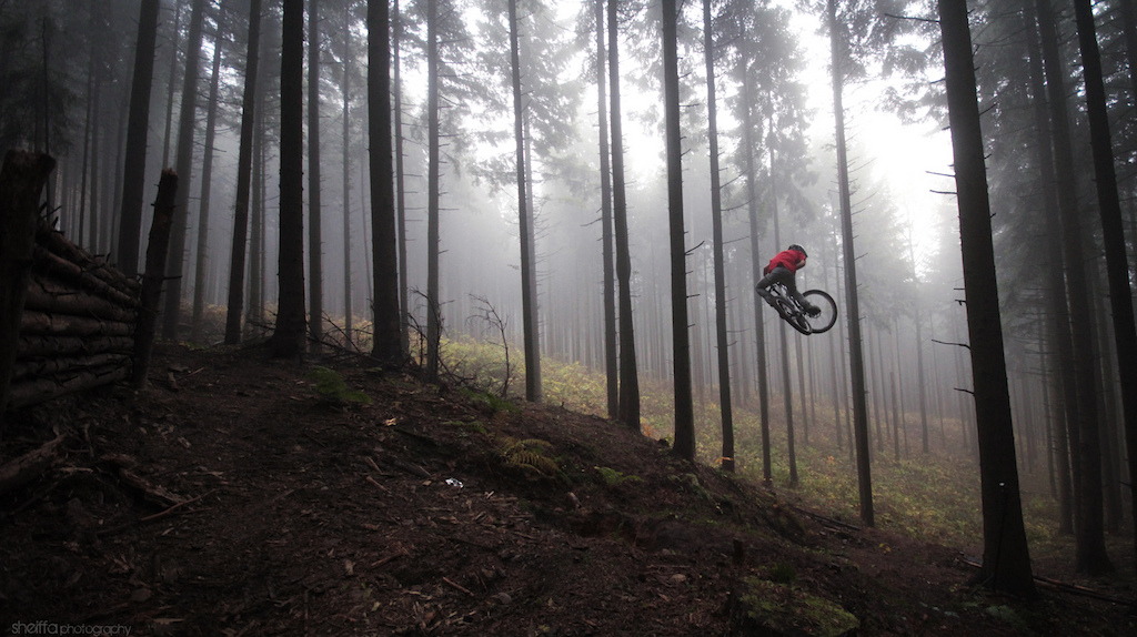 Foggy rides in Kielce, photo by sheiffa.blogspot.pl Check out Deathproof Clothing! www.deathproof.co