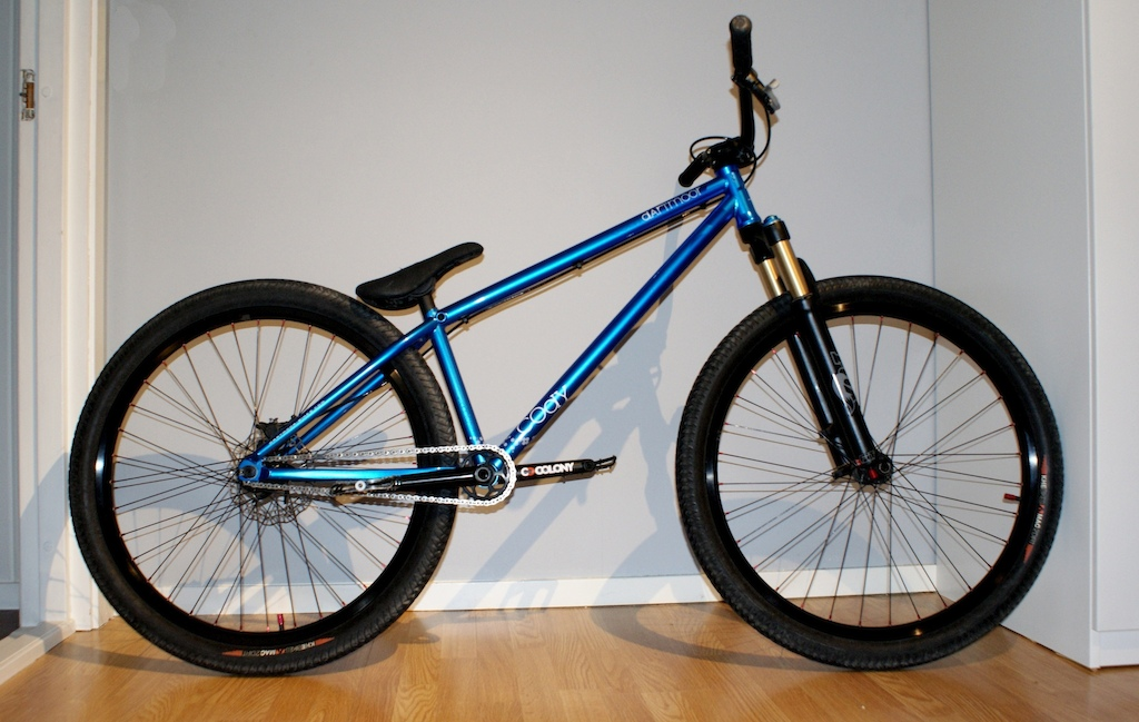 My Dartmoor Cody 100% complete. Just lowered my fork.