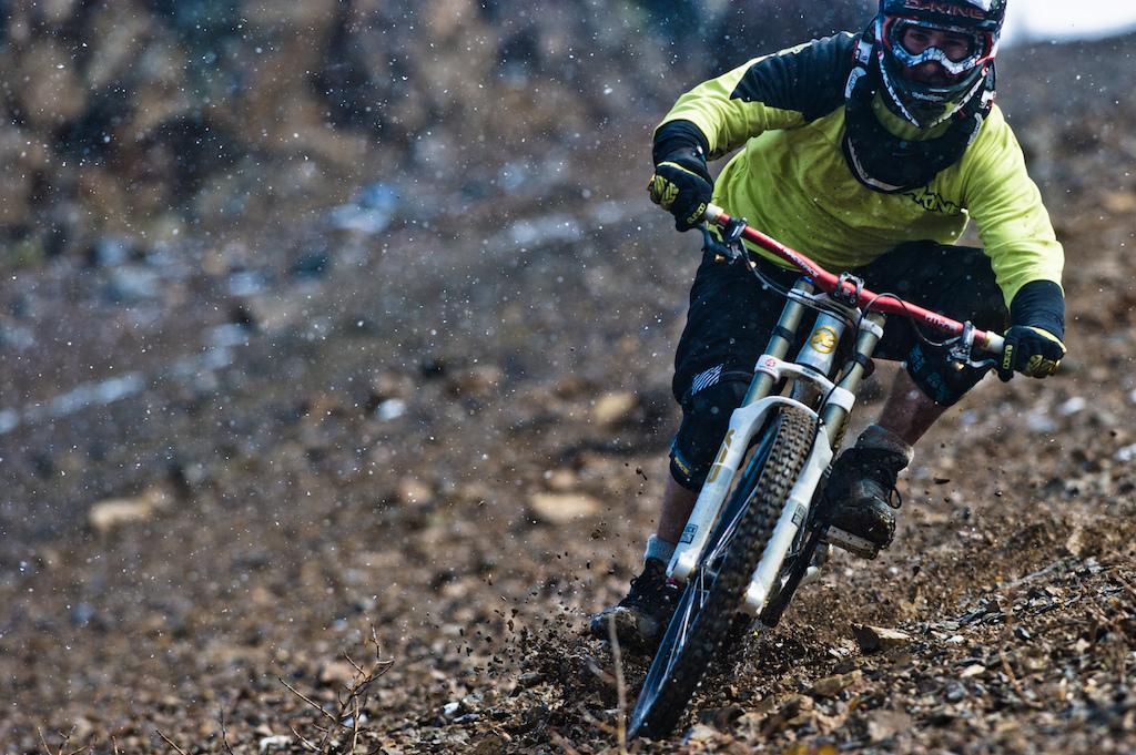 Heli bike in Bralorne BC for Kona bikes