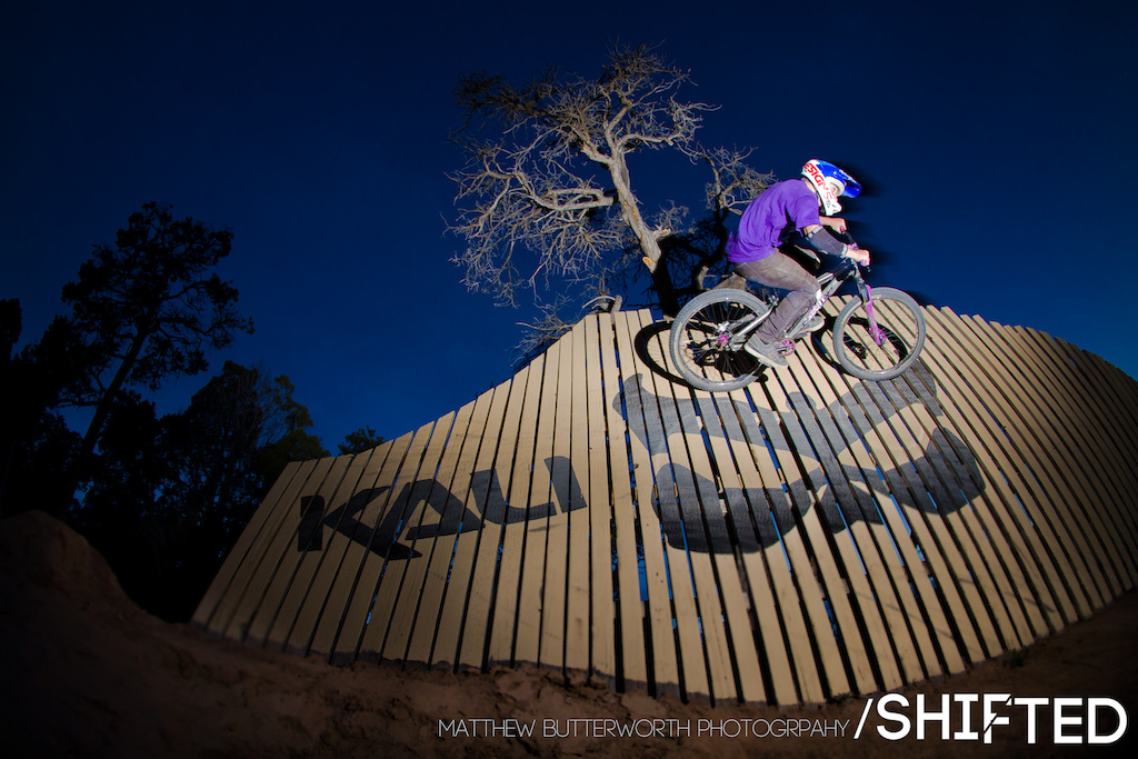 Jeremy Weiss riding the wall at Ranch Style. If you want to know whats going on with the film join our facebook group Will be posting behind the scenes stuff in there as well. www.facebook.com shiftedbikefilm