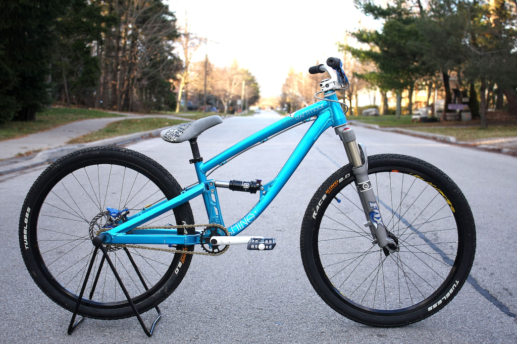 2011 Dartmoor Shine. Some small upgrades just to make it ride better, nothing spectacular.