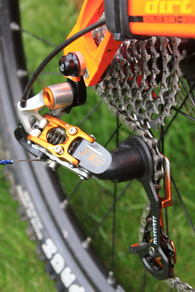 SRAM X0 Rear mech and SRAM XO Cassette