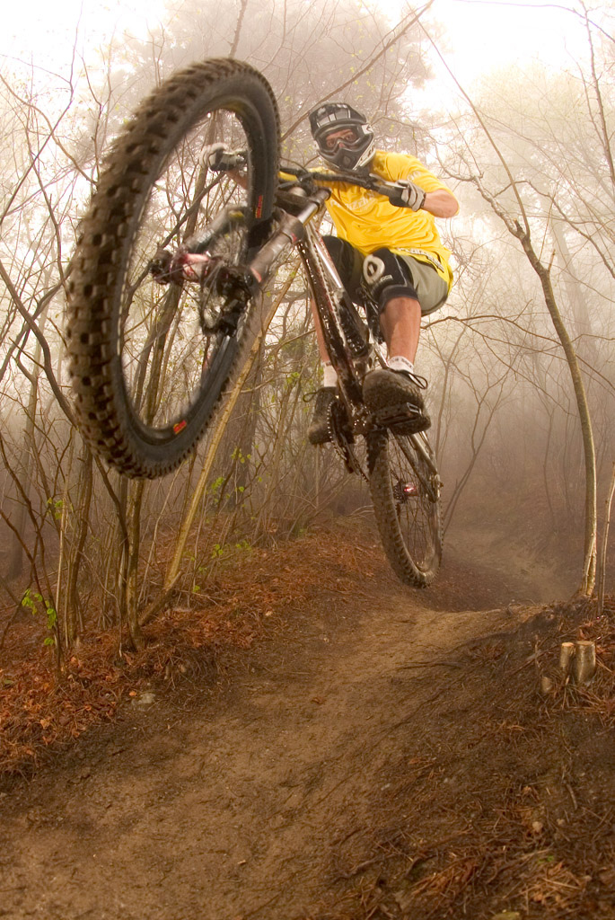 Falco Ruppert racing in Finale Ligure in 2007... my first MTB photo trip ever. Photo c by www.larsscharlphoto.com me