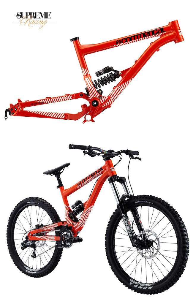 • 2012 Commencal Supreme 6 •