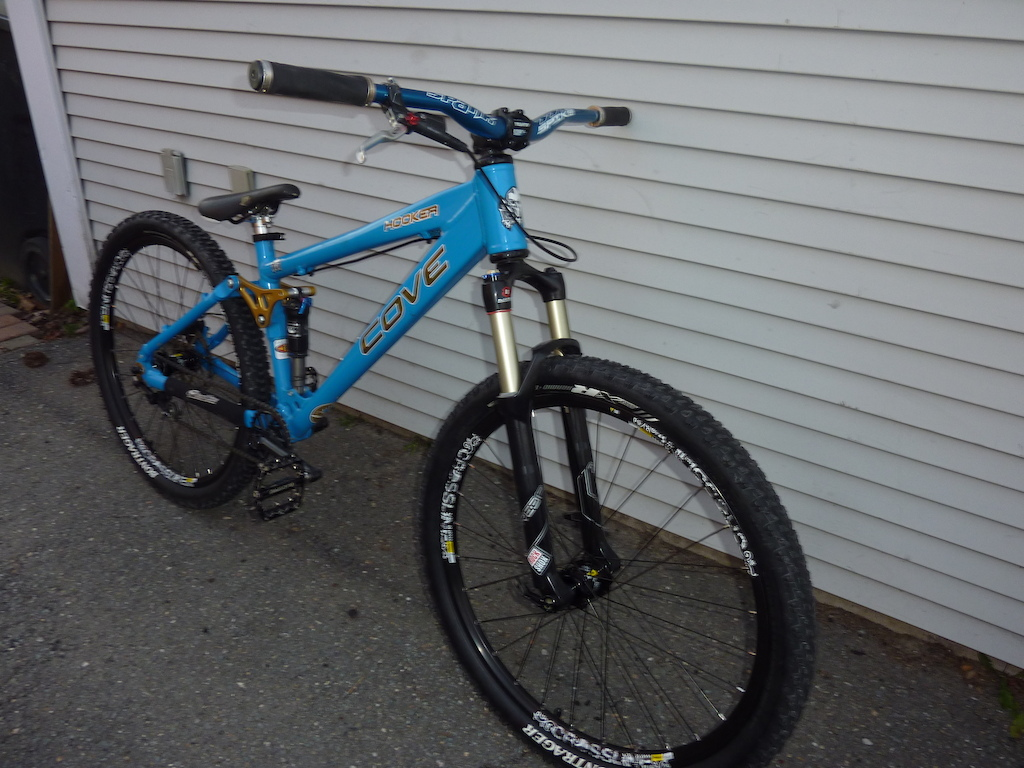My bike for the 2012 season with updated bars, stem, wheels and tires.