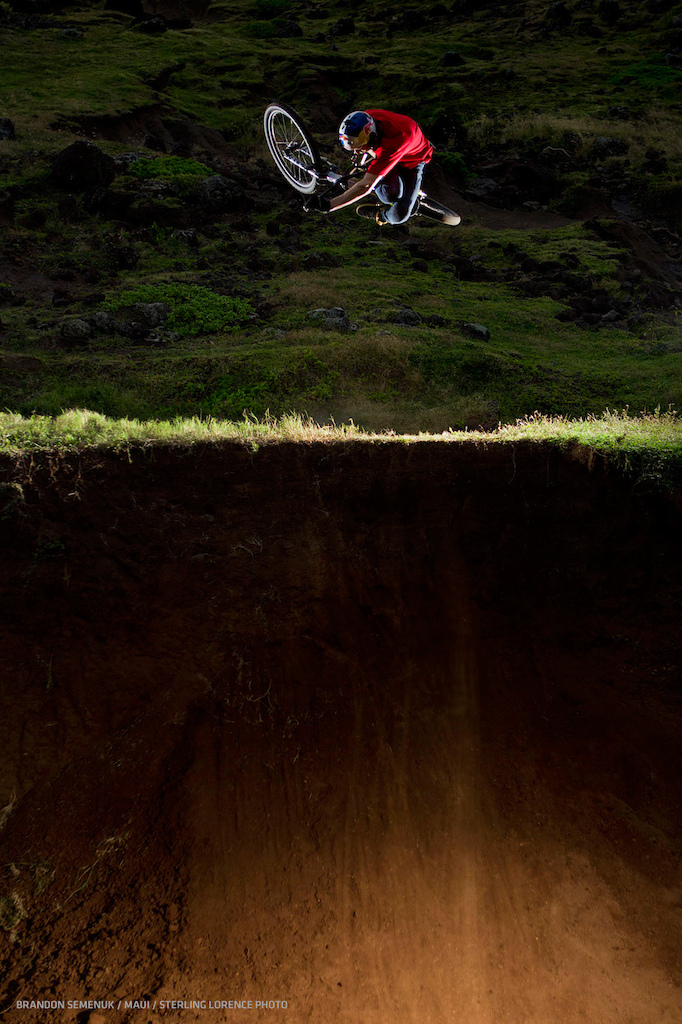 brandon semenuk in maui hawaii