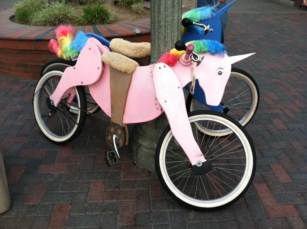 New prototype unicorn bike