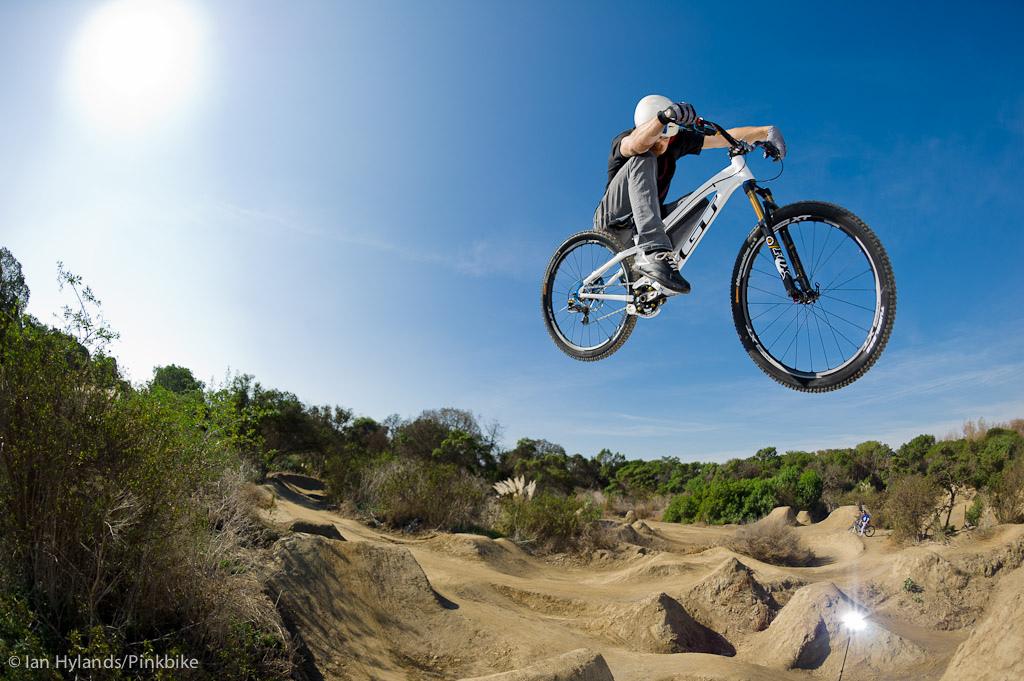 Dan Atherton rides at Sheep Hills in California