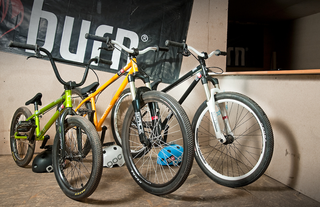 "If you would like to have a ride on a new Dartmoor 2012 completes - Quinnie for MTB and Rikku for BMX, you can come now and rent them at Burn Dirtpark in Warsaw. Photo by Janek 'Elvis"" Kilinski - http://dirtitmore.com"