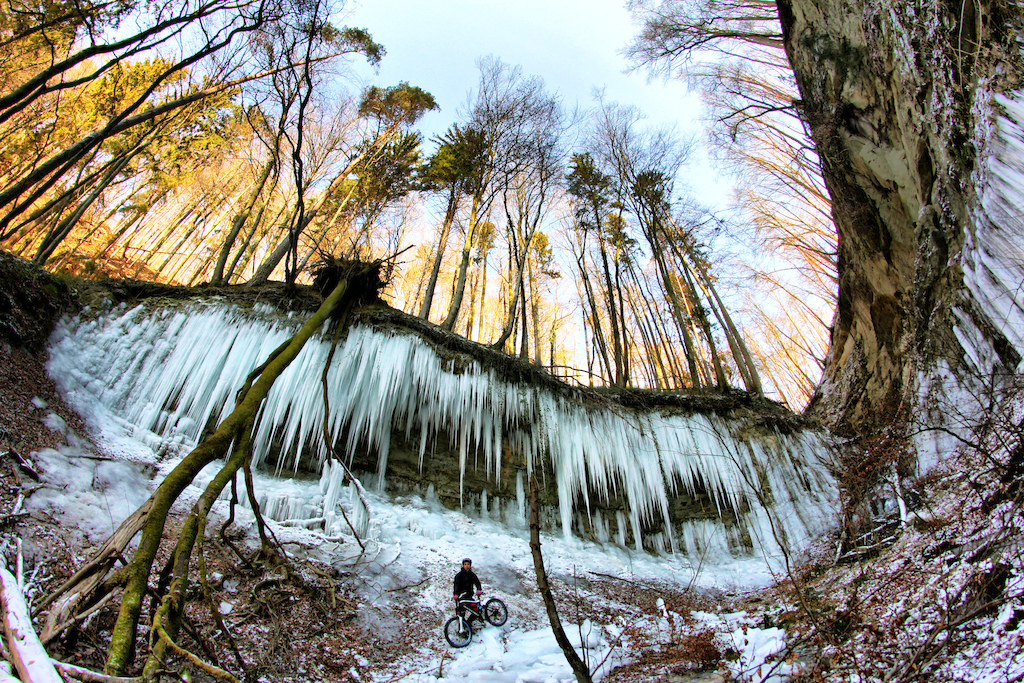 Impressive Icicles near one of my favourites Trails!