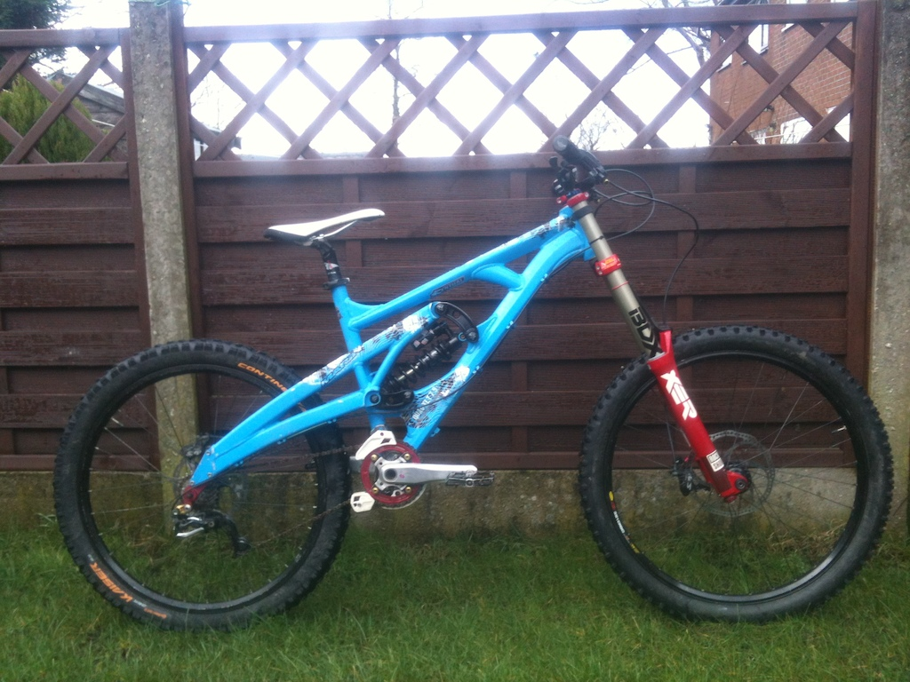 marin quake xlt with new boxxer world cup