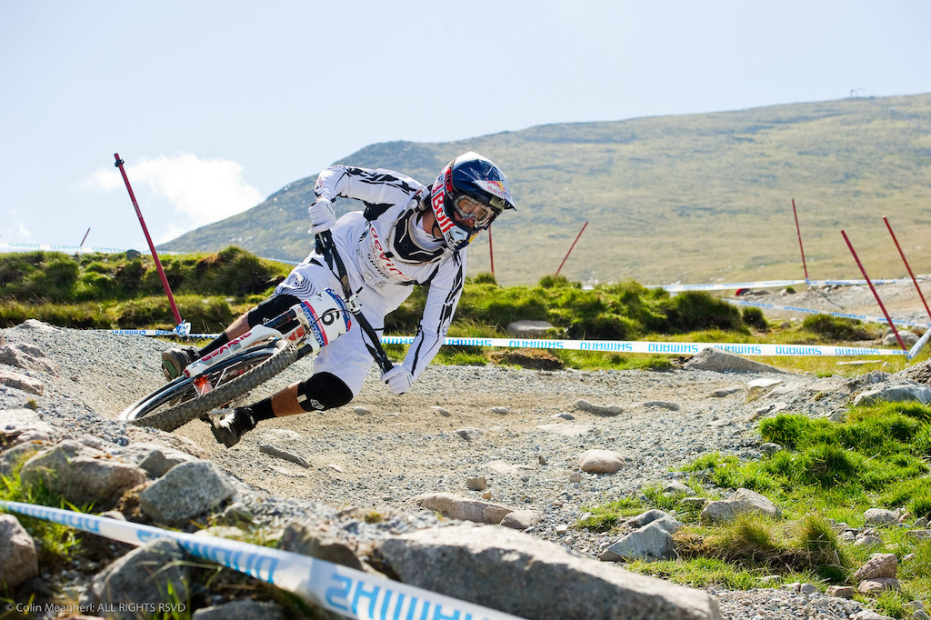 Steve Smith Training at Fort William in 2011