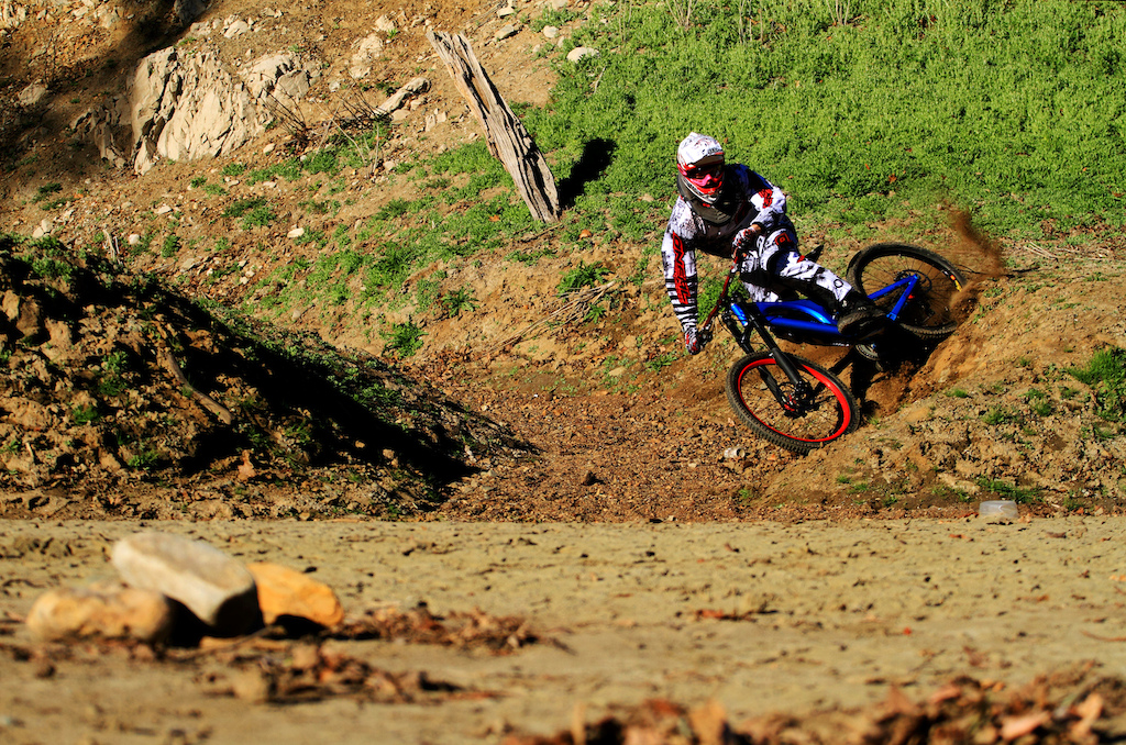 Keith nailing this natural berm with steeze!